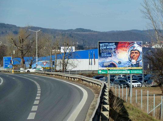 Anreise nach Krems