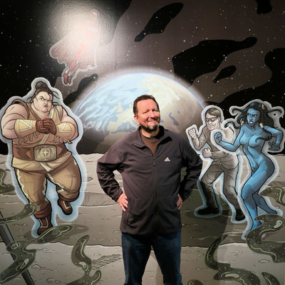 Zeichner Michael Wittmann
