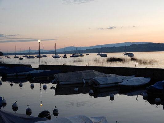 05 Liechti Marianne - Abendstimmung Bootshafen