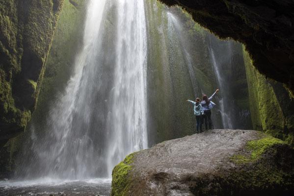 Foto: Markus Buess...Island Wasserfall Gljùfrabùl