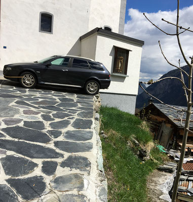 Foto: Hans Zürcher...Parkplatz für Anfänger?