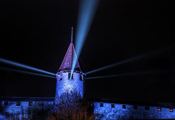 Krieg David - Leuchtturm von Murten