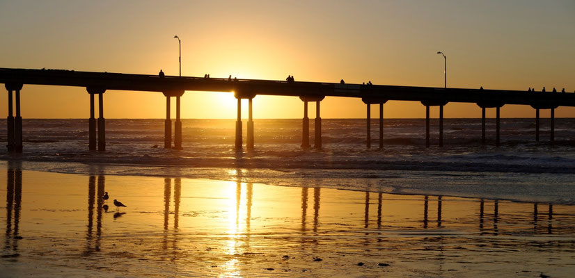 Foto: Roberto Merli...Ocean Beach Pier, San Diego, CA