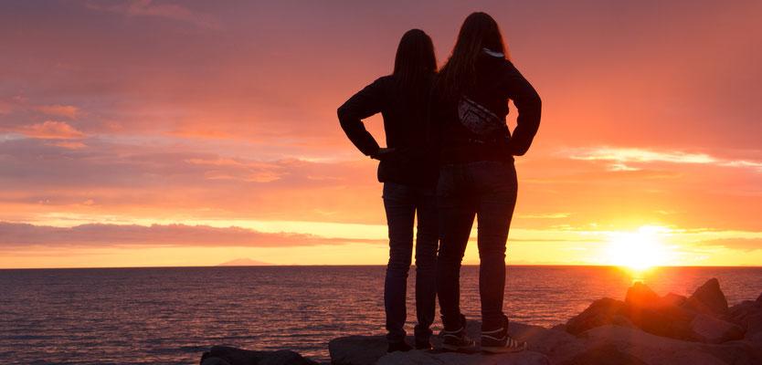 Foto: Markus Buess...Sunset um Mitternacht in Reyjkavik