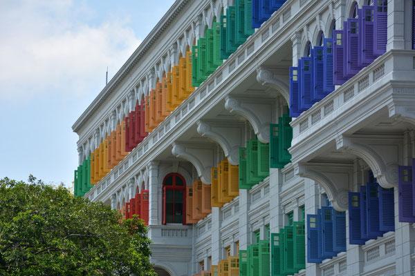 Foto: Werner Santschi...Wohnhaus in Singapur
