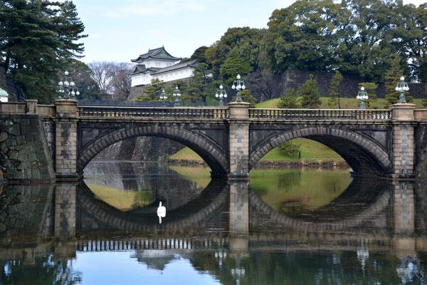 Foto: Werner Santschi...Kaiserpalast in Tokyo