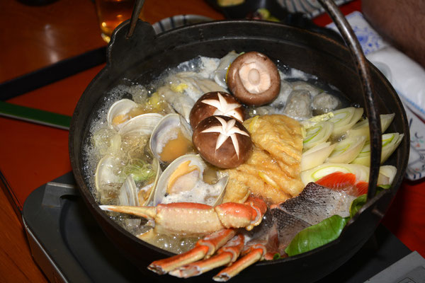 Foto: Werner Santschi...japanische Mahlzeit