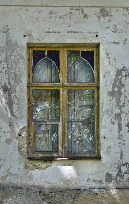 Fenster am Herrenhaus in Kodasoo (dt.: Kotzum) in Estland, 2016