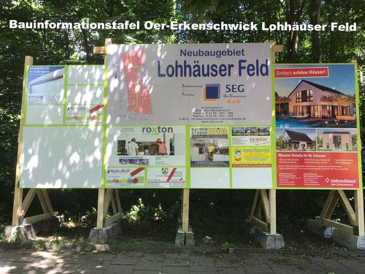 Bauinformationstafel Oer-Erkenschwick