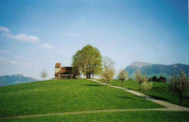Kapelle Michaelskreuz im Frühling