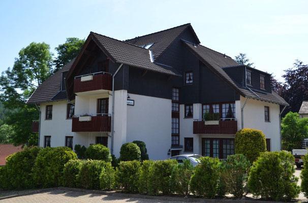 Bocksbergblick Haus 1 Eingang