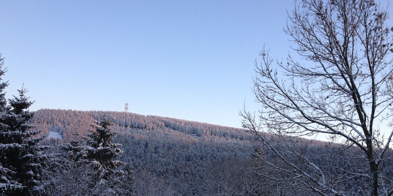 Bocksberg im Winter