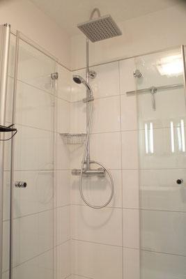 Edle große Dusche
