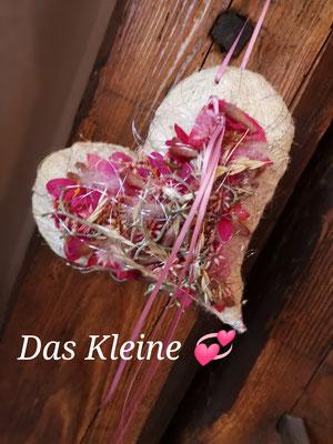 Kleines süßes Herzl in pink-creme Tönen ca. 18x18cm € 21.00