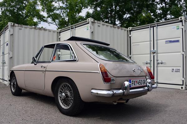 Foto: Andreas Ender - MG-B GT - Baujahr 1966 | von unserem iG Mitglied: Till