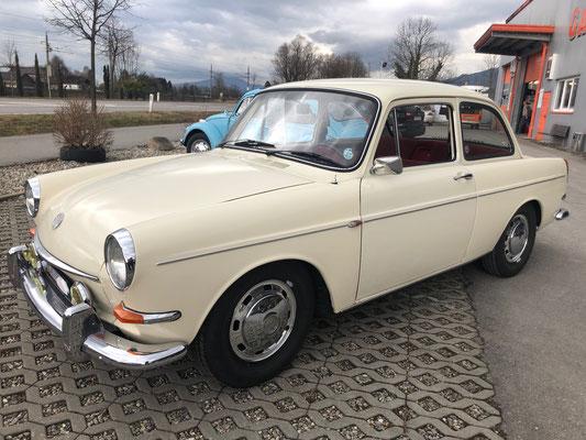 VW 1600 Stufenheck AUTOMATIC | Baujahr 1986 | weiß | teilrestauriert | 2. Besitz (Peter) | 16.990,00€