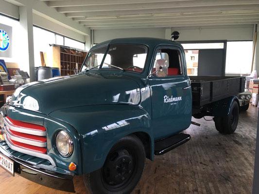 Foto: iG Mitglied Werner / WhatsApp - der Firmen Opel Blitz aus Familienbesitz - komplett Restauration abgeschlossen
