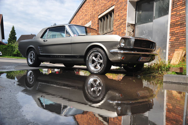 Ford Mustang | Baujahr 1966 | Elenor Grau Metallic | Top Restauriert | 48.500,00€