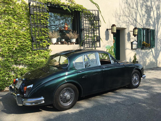 Foto: iG Mitglied Werner / WhatsApp - Ausfahrt mit dem Jaguar MK II - zu verkaufen!