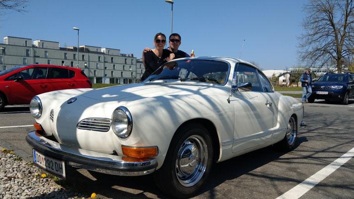 unser iG Mitglied Christoph wurde mit Lisa beim Einkaufen gesehen