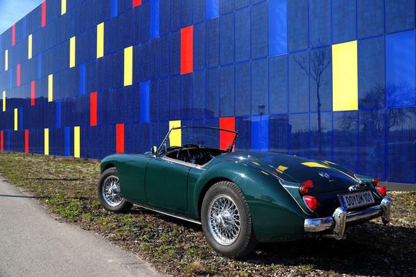Foto: Andreas Ender - MG-A - Baujahr 1961 | von unserem iG Mitglied: Andreas