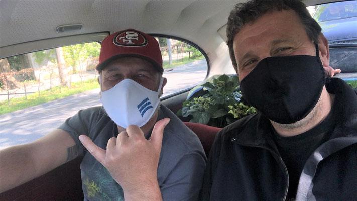 unsere iG Mitglieder Robby und Peter versuchten es als Bankräuber mit einem 34PS Fluchtfahrzeug!