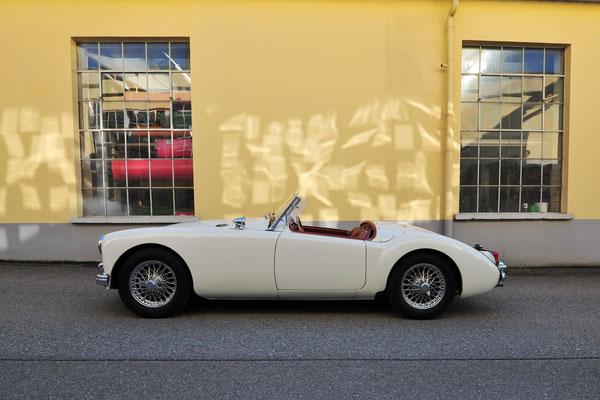 Foto: Andreas Ender - MG-A 1500 - Baujahr 1959 | von unserem iG Mitglied: Norbert