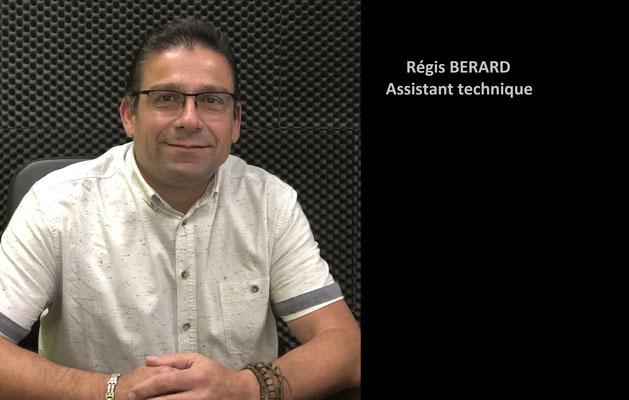 Régis BERARD - Assistant audioprothésiste