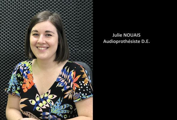 Julie NOUAIS -  Audioprothésiste D.E.