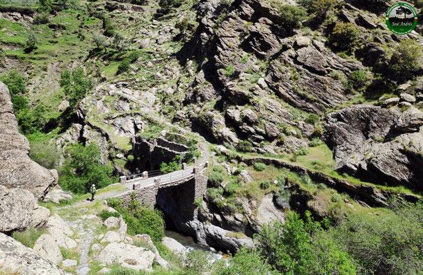 Puente sobre el río Trevélez