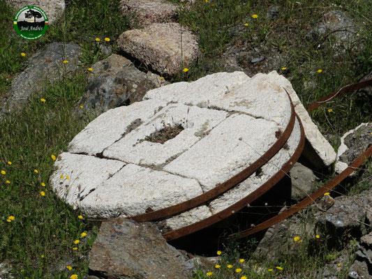 Piedra viejo molino