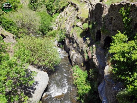 Molino junto al río Trevelez