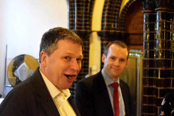 CDU Vorsitzender Andreas Zander als Gast beim Jahresempfang der BfL 2018