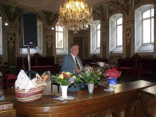 Ansprache von Güter Scholz beim jahresempfang 2013