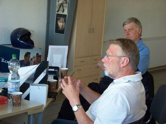 Ausschussberatung mit Uwe-Jens Iwers und Bernd Mewes