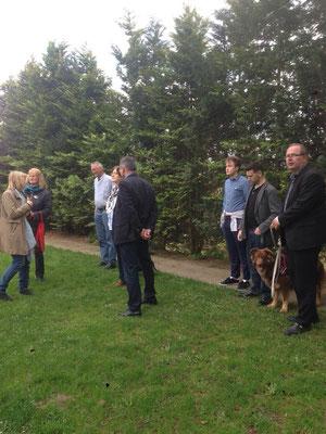 BfL Delegation besucht am 23. April 2018 das Lübecker Tierheim