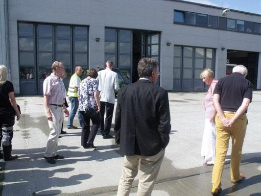 Besuch Flughafen Lübeck 2012