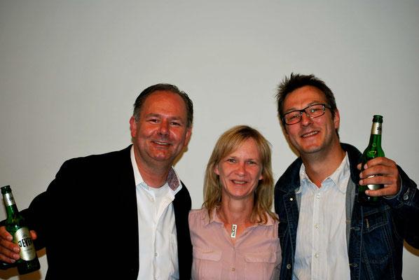 Lotharr Möller und Lars Ulrich beim Jahresempfang 2015