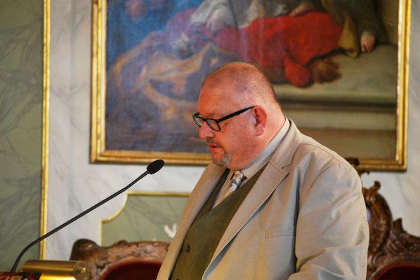 Marcel Niewöhner, Ansprache beim Jahresempfang 2016