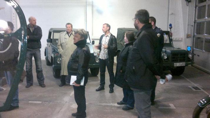 Besuch des Grenzmuseums 2012 mit Karsten Böttger