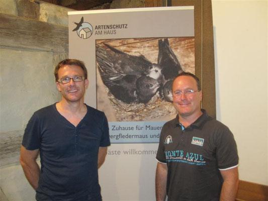 Andreas Hachenberg (li) und Johannes Mayer