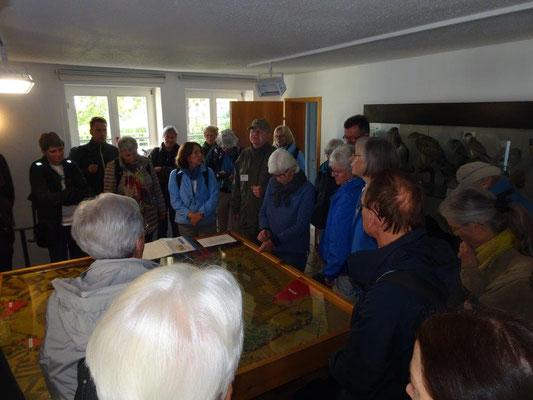 Einführung im Naturschutzzentrum Federsee