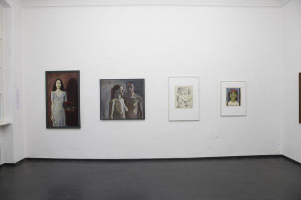 Ausstellungsansicht Kapitel Weiblichkeit