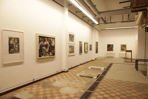 Ausstellungsansicht Kapitel Arbeiterinnen