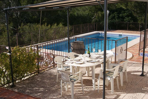 Rent a House Spain, Costa Blanca, Altea La Vella, pool golf sea beach dishwasher Benidorm Calp Albir