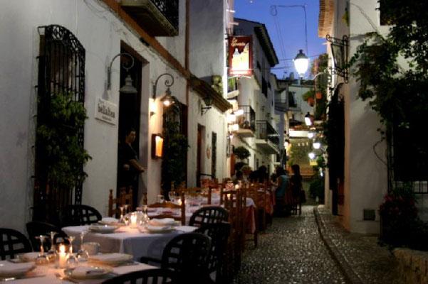 Altea old town