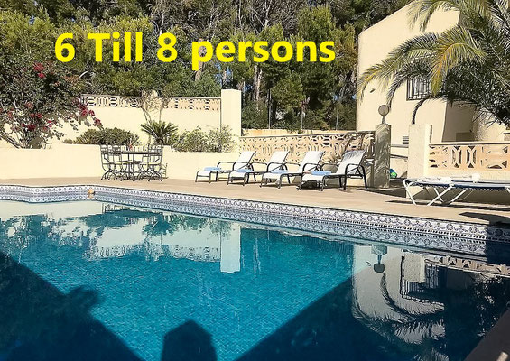 Altea, Villa for 6 til 8 persons