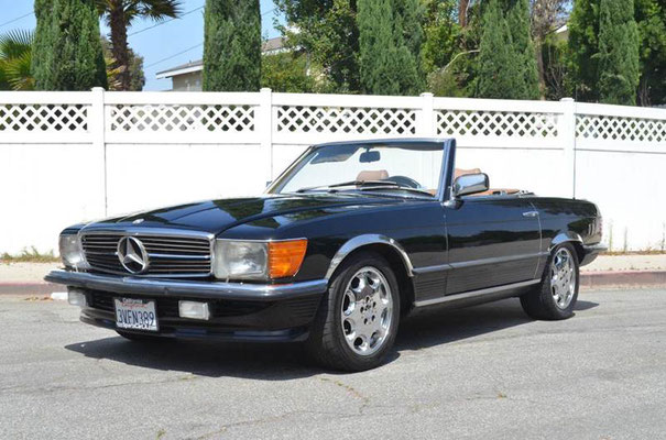 1984 Mercedes Benz 500 SL Cabrio