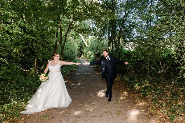 Brautpaarshooting vor dem Standesamt in Schafflund