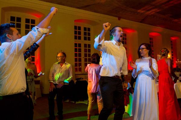 Hochzeitsfeier Party Stimmung
